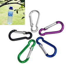 5 x Small Color Carabiner Clip Snap for Camping Keyring Sports Multi Uses HY