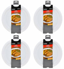 "New Pack of 8 Microwavable Plates 10"", Safe for Microwave Use ~ FREE SHIPPING"