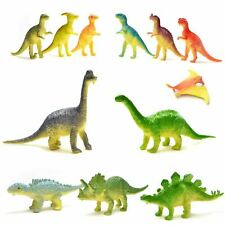 12 Dinosaur Mini Figures Assorted Party Bag Fillers Pinata Favour Kids Toys Gift
