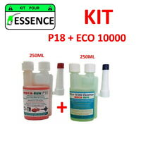 "MECARUN - KIT ADDITIF TRAITEMENT ""ESSENCE"" P18 + ECO10000 - 2x250ml"