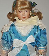"Sonja Hartmann ""Elaine"" Porcelain Doll - Limited Edition - Free Usa Shipping!"