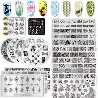 BORN PRETTY Nail Art Stamping Stamper Raschietto Piastra Plate Immagine