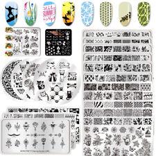 BORN PRETTY Spring Summer Nail Stamping Plates  Art Templates Salon Tool