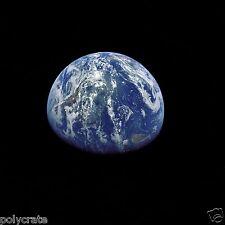 Photo Nasa - Apollo 15 - La Terre vue de l'espace - Conquête spatiale
