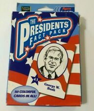 The Presidents Fact Pack Cards 50 Colorful Cards Educational Used In Package