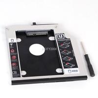 SATA 2nd HDD SSD Hard Drive Caddy for IBM Lenovo Thinkpad T400 T400s T410 T500