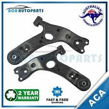 Front Lower Left + Right Control Arm & Bush for TOYOTA COROLLA ZRE152R ZRE153R