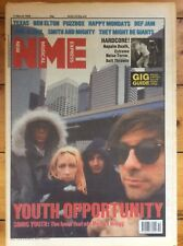 NME New Musical Express 11/3/89 Sonic Youth, Texas, Mary Margaret O'Hara