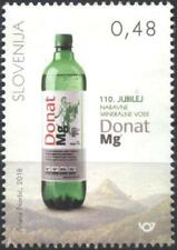 Mint stamp Donat Mg Natural Mineral Water 2018  from Slovenia  avdpz