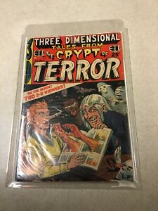 3D TALES FROM THE CRYPT OF TERROR # 2 VG EC COMICS 1954