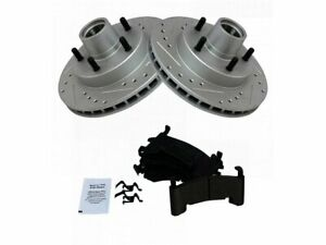 For 1982-1995 Chevrolet S10 Brake Pad and Rotor Kit Front 65174YG 1983 1984 1985