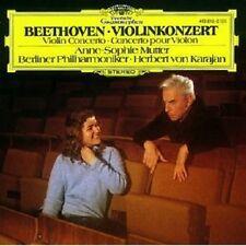 ANNE-SOPHIE MUTTER/HERBERT VON KARAJAN - VIOLINKONZERT OP.61  CD BEETHOVEN NEU
