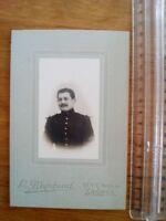 PHOTO années 30 homme en uniforme - blanchaud - saumur