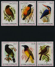 St Thomas & Prince 541-7 MNH Birds