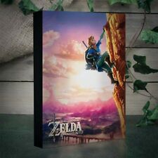 NEW OFFICIAL Nintendo Legend of Zelda Breath of the Wild Light Up Canvas Print