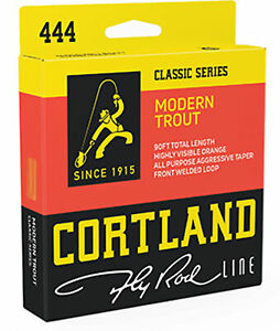 Cortland 444 Classic Modern Trout Fly Line Weight Forward Taper