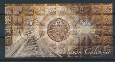 [CU112] Curacao 2012 Mayan Calendar Miniature Sheet MNH # 112