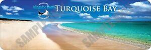 Turquoise Bay  - Ningaloo Reef Bumper Sticker