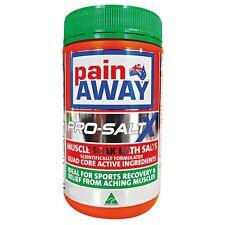 Pain Away Pro-Saltx Bath Salts 600G Overworked, tired, tense, aching muscles
