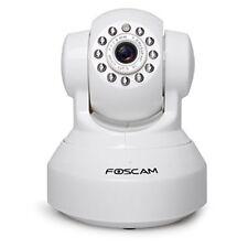 F409252f Foscam Fi9816p Webcam 720p sans fil Blanc