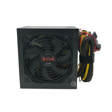"650W 650 Watt 4.72"" Fan ATX Gold SATA PCIE Power Supply for Intel AMD PC System"