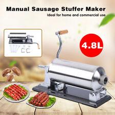 Rideyard 48l Sausage Stuffer Grinder Maker Machine Home Kitchen Tool Horizontal