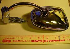 """BSA, Triumph,Norton,OIF, Cafe, Chrome 5"""" Rectangular Bar End Mirror, 7/8"""" L/R"""