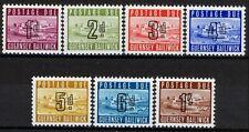 Guernsey 1969, Postage due set MNH, Mi 1-7 cat 45€