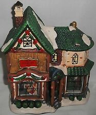 Holiday LIghted Porcelain House OLD COUNTRY INN