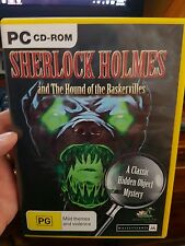 Sherlock Holmes and The Hounds of Baskervilles - PC GAME - FREE POST