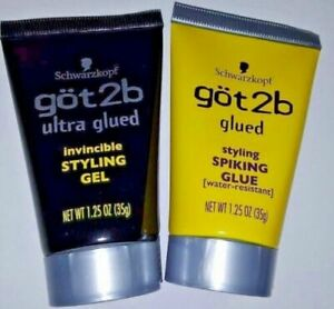 got2b Styling Spiking Glue & invincible Styling Gel1.25oz Schwarzkopf