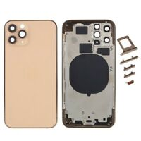 Carcasa Chasis Tapa Bateria Apple iPhone 11 Pro Dorado