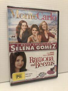 Monte Carlo + Ramona and Beezus (Selena Gomez Double Pack) & NEW Region 4 DVD