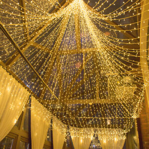 500LED String Fairy Lights Wedding Christmas Party Outdoor Decor Waterproof 100M