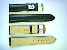 1 Bracelet ZRC 20 mm NOIR FAIT MAIN strap handmade band racing watch cuir