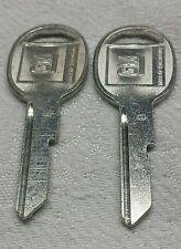 "2 New GM Key Blanks, Uncut, Unused,  ""B"" Keys"