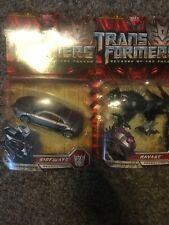 Transformers ROTF Sideways And Ravage Deluxe Class Set MISB Hasbro 2009 Set Of 2