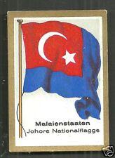 Johore Flag Straits Settlements Malaya Malaysia 1931
