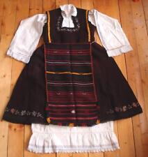 19C. ANTIQUE BULGARIAN FOLK TRADITIONAL COSTUME RARE