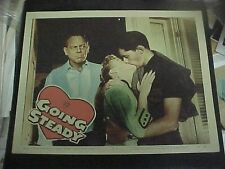 GOING STEADY, orig 1958 LC #8 (Molly Bee and Alan Freedman Jr. embrace)