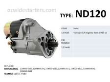 Yanmar starter motor suits 6LP engines