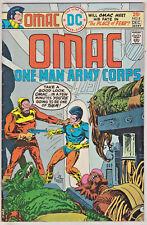 OMAC#8 FN/VF 1975 JACK KIRBY DC BRONZE AGE COMICS