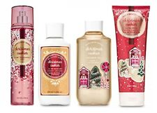 Bath & Body Works Christmas Cookies 4 Piece Set - Lotion, Cream, Gel, Mist