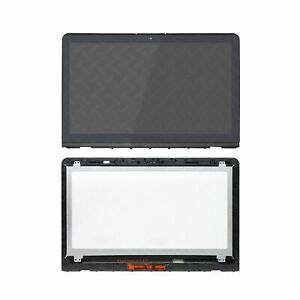 4K UHD LCD LED Touch Screen Assembly Digitizer+Bezel+Board For HP ENVY 15T-AS100