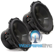 "2 ROCKFORD FOSGATE PUNCH P3D4-12 SUBS 12"" DUAL 4-OHM 1200W SUBWOOFERS SPEAKERS"