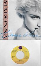 MADONNA  True Blue / Ain't No Big Deal 45 with PicSleeve
