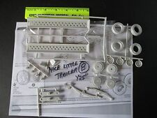 Nice Little trailer to put a car on 1/25 scale (parts only) package #B