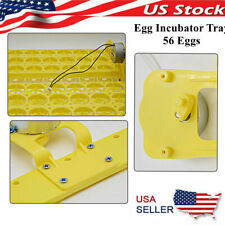 Automatic 56 Egg Turning Tray For Chicken Duck Egg Hatcher Accs Supplies 12v