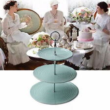 3 Tier Cake Plate Stand Handle Fitting Hardware Plate Rod Stands Holder S3