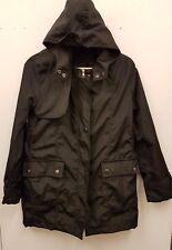Ladies Korean  Winter Waterproof Black Coat Size S